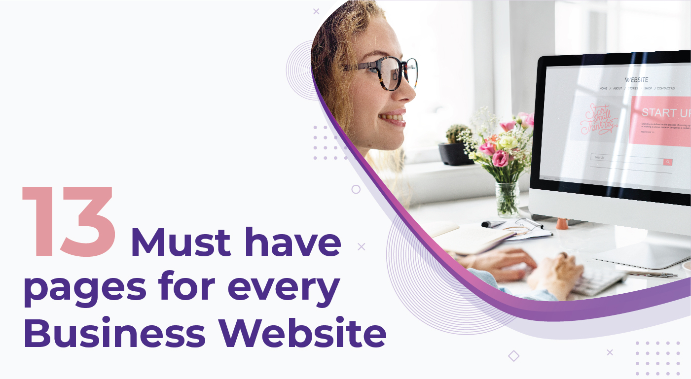 13 Must have pages for every business website