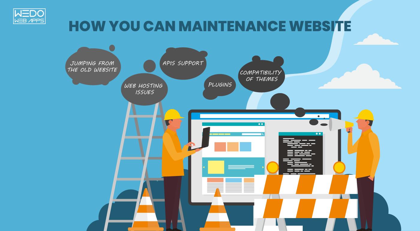 List The Major Setbacks Of Website Maintenance