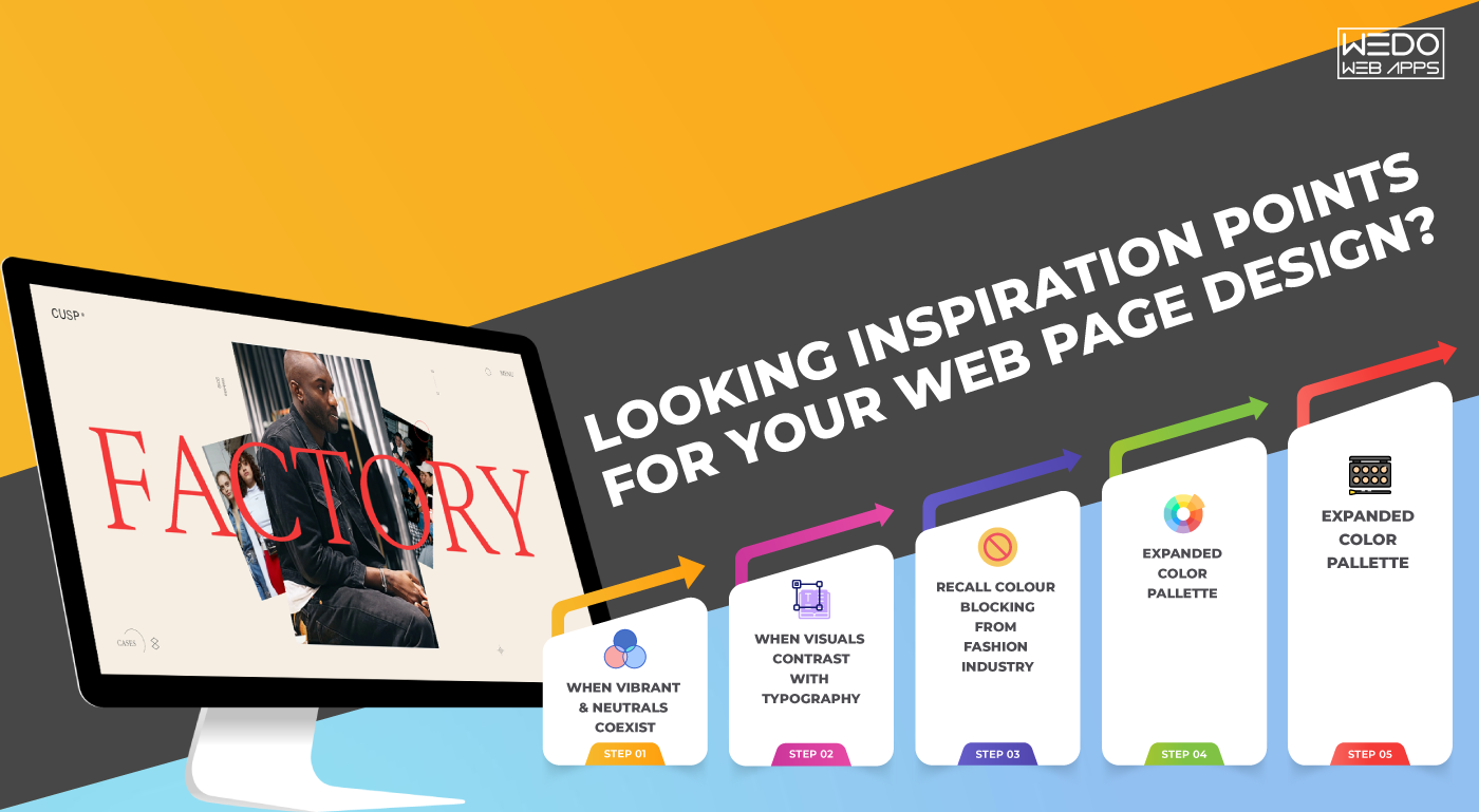 Make Your Web Page Design Stand Out With Colors That Speak On Own