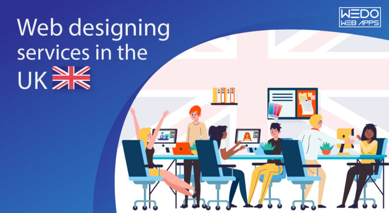 The King of Web designing  services in the UK